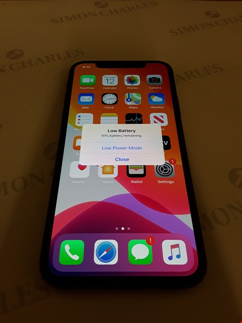 Lot 88 APPLE IPHONE X 256GB MOBILE PHONE - VODAFONE