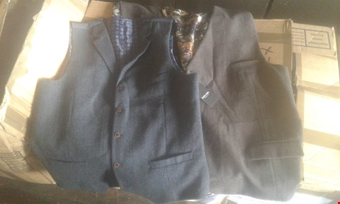 Lot 7037 APPROXIMATELY 31 X MENS WAISTCOATS ASSORTED COLOURS