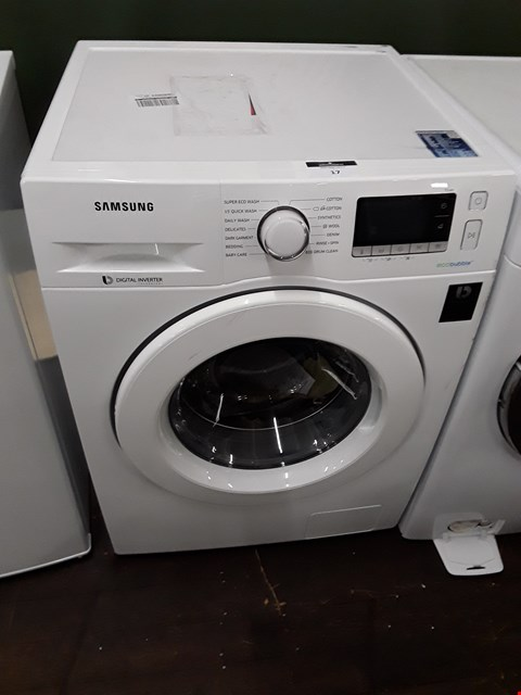 Lot 17 SAMSUNG ECOBUBBLE 9KG 1400 SPIN WASHING MACHINE IN WHITE - WW90J5456MW