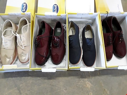 Lot 4044 4 BOXED SCHOLL VIRGINIA SUMMER & WINE BROGUES - SIZES 4, 5