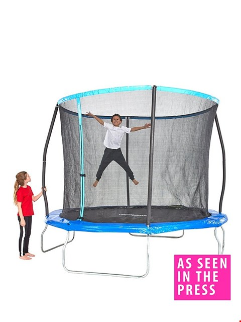 Lot 68 BOXED 8FT TRAMPOLINE WITH EASI STORE  RRP £279.99