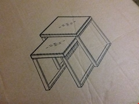Lot 129 MONZA NEST OF 2 TABLES RRP £85