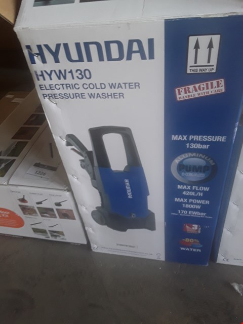 Lot 1228 HYUNDAI HYW130 PRESSURE WASHER