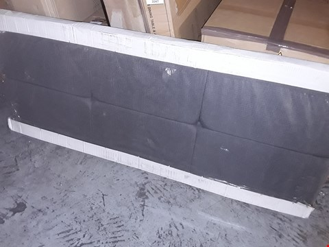 Lot 2048 BOXED GRADE 1 150CM RIVA/SAVANNAH CHARCOAL HEADBOARD
