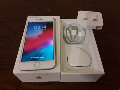 Lot 9001A BOXED APPLE IPHONE 7 32GB IN SILVER