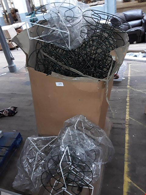 Lot 109 PALLET OF CABLE/HOSE REELS