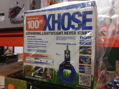 Lot 6 BRAND NEW BOXED XHOSE 100FT EXPANDING GARDEN HOSE