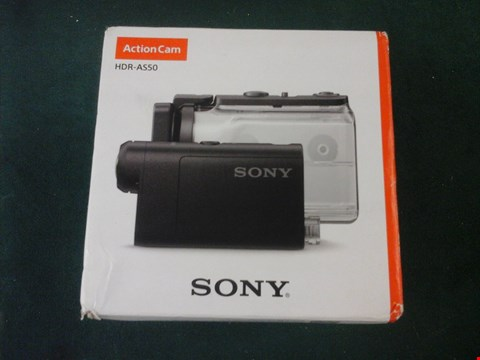 Lot 1002 GRADE 1 BOXED SONY HDR-AS50 ACTION CAMERA RRP £230