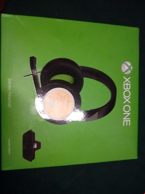 Lot 1003 XBOX ONE STEREO HEADSET