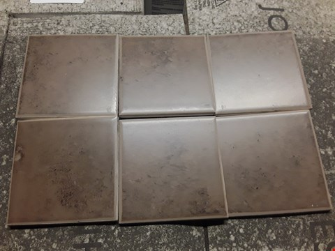 Lot 3064 PALLET OF 84 PACKS OF MOCHA STONE FIELD TILES (Approx 84 Sq. Metres)