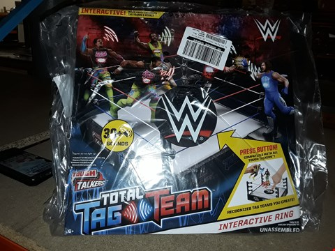 Lot 6093 WWE TOTAL TAG TEAM INTERACTIVE RING GRADE 1 RRP £49.98