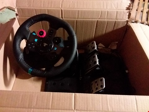 Lot 268 LOGITECH G29 DRIVING FORCE STEERING WHEEL