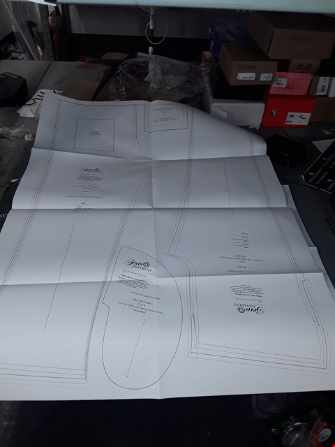 Lot 1430 UNISEX SCRUBS TOP AND BOTTOMS TEMPLATES