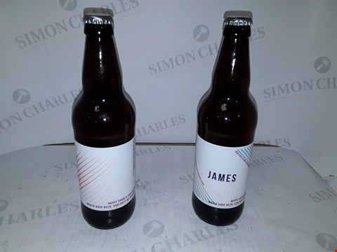 Lot 9047 PERSONALISED SET OF 2 BEERS RRP £24.99