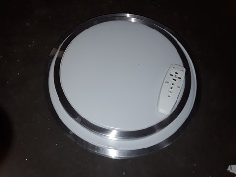 Lot 2524 CIRCULAR WALL/ CEILING LIGHT WITH REMOTE