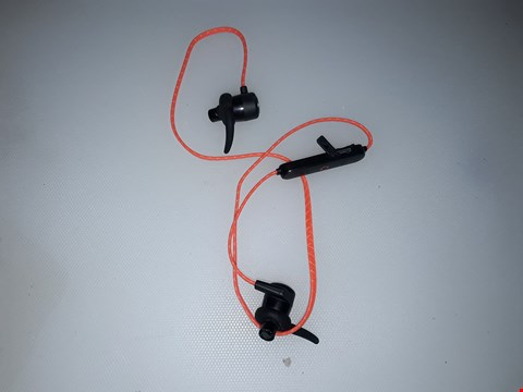 Lot 251 CREATIVE OUTLIER SPORTS LIGHTWEIGHT BLUETOOTH HEADPHONES - ORANGE