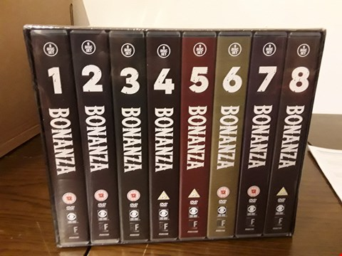 Lot 1018 BONANZA 71 DISC DVD BOX SET THE COMPLETE SEASONS 1-8