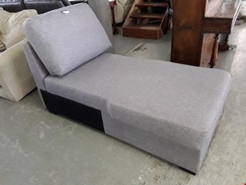 Lot 50A GREY FABRIC CHAISE SECTION