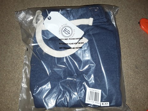 Lot 131 BOX OF APPROXIMATELY 14 PAIRS OF NAVY BLUE JOGGERS SIZE SMALL