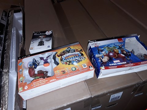 Lot 9072 SKYLANDERS GIANTS , DISNEY INFINITY MARVEL HEROES AND ROCKSMITH FOR PS3