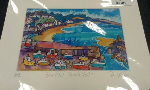 Lot 8206 4 DORIAN SPENCER DAVIES PRINTS TO INCLUDE; WISEMANS BRIDGE AND BEAUTIFUL SAUNDERSFOOT