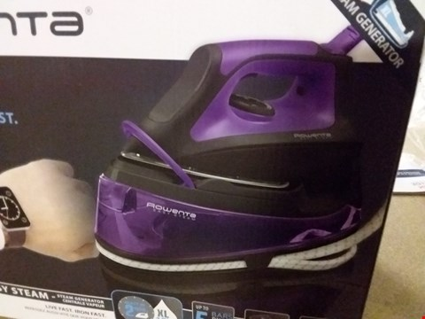 Lot 13804 ROWENTA EASY STEAM IRON