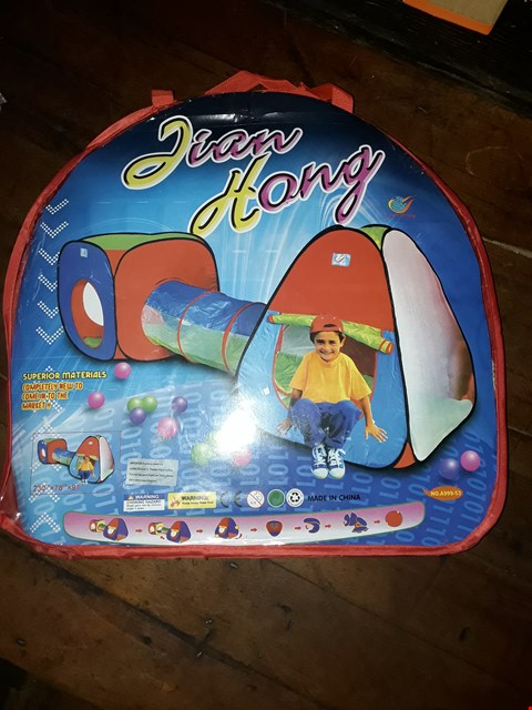 Lot 2131 LOT OF 2 KIDS PLAY TENT