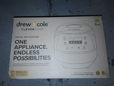 Lot 1892 CLEVERCHEF BY DREW&COLE MULTI COOKER