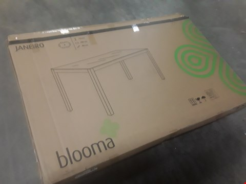 Lot 25 BOXED BLOOMA JANEIRO GARDEN TABLE