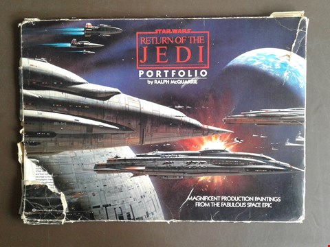 Lot 2 STAR WARS RETURN OF THE JEDI PORTFOLIO