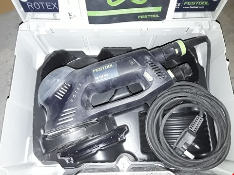 Lot 691 FESTOOL RO 125 FEQ PLUS GB GEARED ECCENTRIC SANDER ROTEX, 240 V