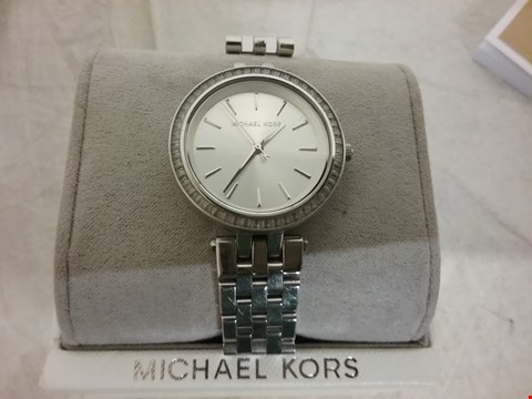 Lot 58 MICHAEL KORS MINI DARCI STAINLESS STEEL WATCH RRP £329