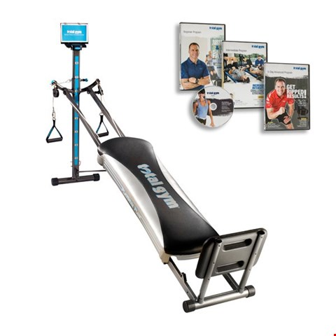 Lot 1107 TOTAL GYM PLATINUM PLUS WHOLE BODY WORKOUT