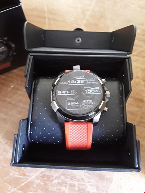 Lot 30 DIESEL MENS DISPLAY TOUCHSCREEN SMARTWATCH RRP £429
