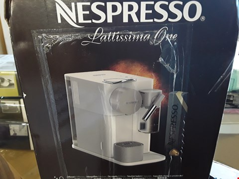 Lot 2067 GRADE 1 DELONGHI NESPRESSO LATTISMA ONE COFFEE MACHINE  RRP £249.99