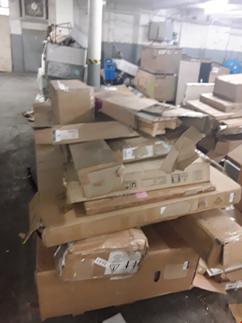 Lot 3284 PALLET OF ASSORTED FLAT PACK FURNITURE PARTS