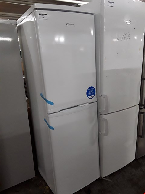 Lot 12 CANDY CSC1745WE/P 50/50 FRIDGE FREEZER IN WHITE