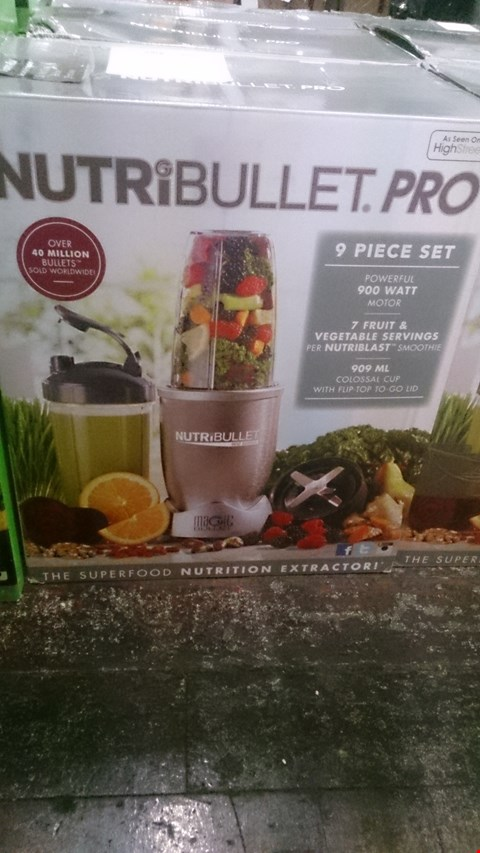 Lot 1034 3 BOXED NUTRIBULLET PRO NUTRITION EXTRACTORS.
