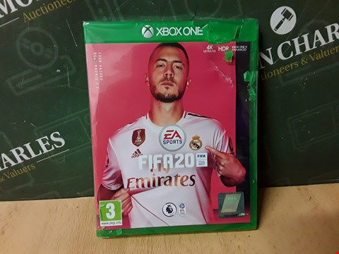 Lot 14882 FIFA 20 FOR XBOX ONE RRP £64.99