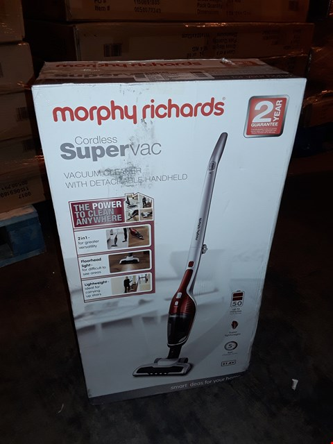 Lot 1035 MORPHY RICHARDS CORDLESS SUPERVAC