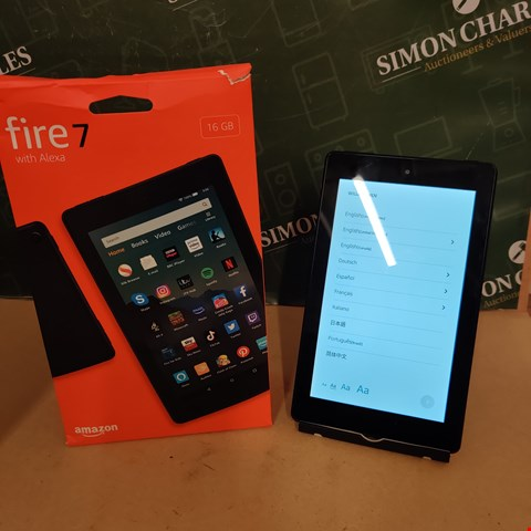 Lot 54 AMAZON FIRE 7 WITH ALEXA 16GB TABLET