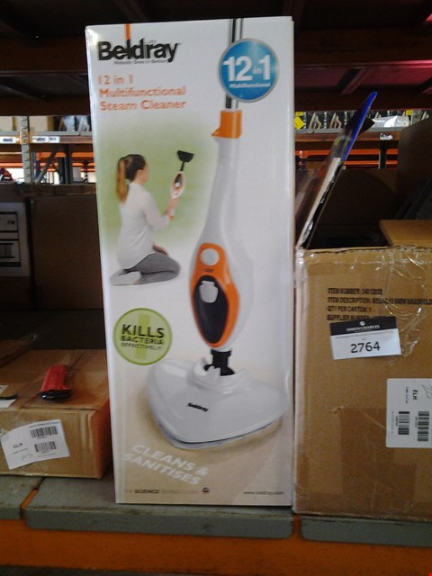 Lot 4058 BELDRAY 12 IN 1 MULTIFUNCTION STEAM CLEANER