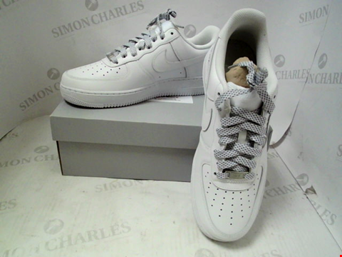 Lot 6 BOXED PAIR OF DESIGNER NIKE AIR FORCE 1 - UK SIZE 8.5