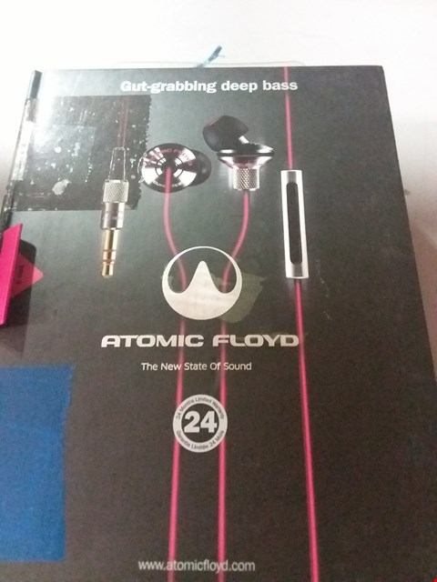 Lot 124 ATOMIC FLOYD IN EAR HEADPHONES
