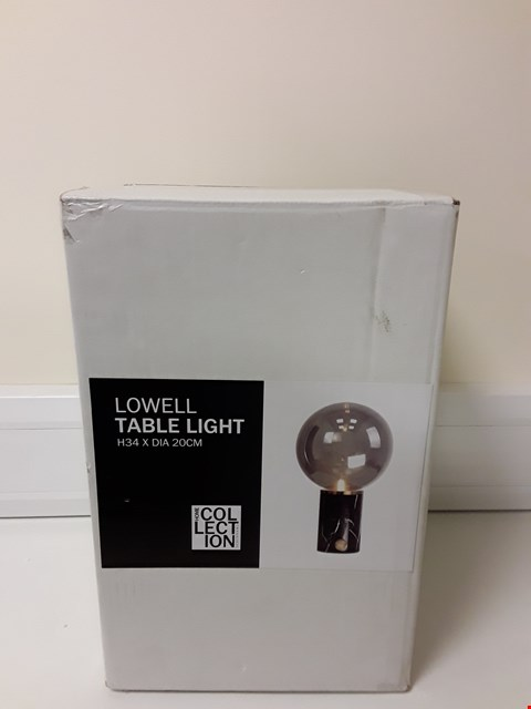 Lot 6024 BOXED EMERY TABLE LAMP