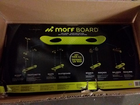 Lot 1 BOXED MORF BOARD SCOOT & SKATE