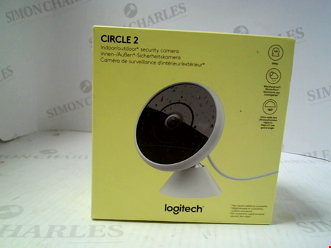 Lot 15858 LOGITECH LOGI SECURITY CAMERA
