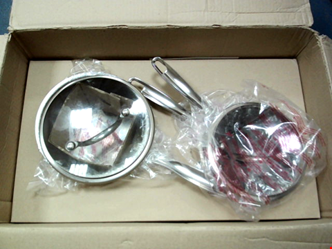 Lot 90 COOK'S ESSENTIALS STAINLESS STEEL COOKWARE SET