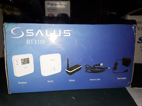 Lot 968 SALUS RT310I SMARTPHONE CONTRLLED PROGRAMMABLE THERMOSTAT