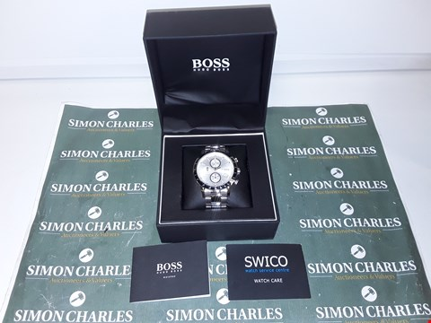 Lot 1211 HUGO BOSS CHRONOGRAPH WATCH WITH STOPWATCH FUNCTION